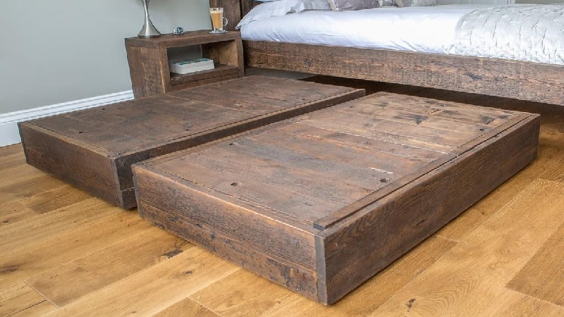 Diy Under Bed Storage Drawer Woodworking Projects To Make Money